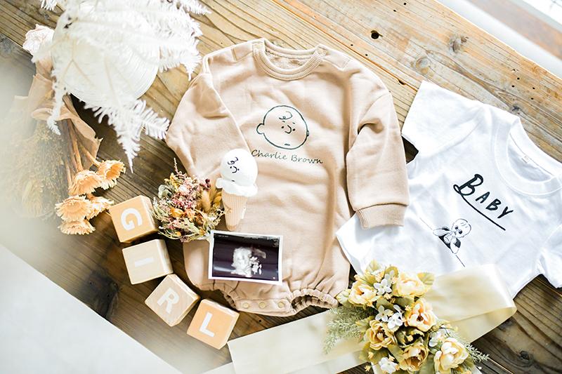 生まれてくる赤ちゃんの為にご用意されたアイテム